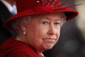 The Queen looking stressed and drained, follow paedophile arrest warrant, issued by former Military Police Man, Matt Taylor.